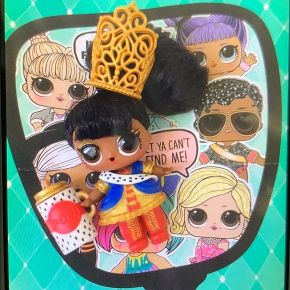 LOL Surprise Hair-Goals Doll    Her Majesty!! NWT